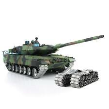 Henglong 1/16 6.0 Leopard2A6 Rc Tank 3889 Barrel Recoil Metal Tracks W/ Linkages