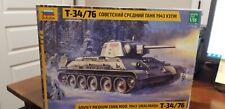BRAND NEW Zvezda 3689 Soviet Medium Tank T-34/76 1943 Uztm Model Kit