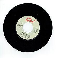 "Diana SAUNDER Vinyl 45T 7"" LOVE TO YOU BABY - VOLARE -FESTIVAL 186 F Rèduit RARE"