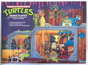 1989 Playmates Teenage Mutant Ninja Turtles Sewer Playset Sealed Not Opened