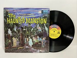 '69 DISNEY the HAUNTED MANSION LP w/book Halloween 3947 paul frees ron howard OP