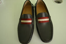 BALLY Men's 'Wabler' Loafer/Driving shoes Size 8 Brown Leather Brand new