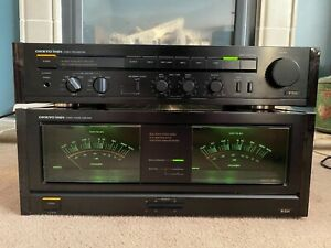 Pair of Onkyo M-504 Amp & P-304 Preamp, Beauty and Beast!