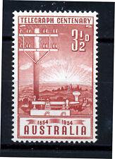 AUSTRALIA 1954 TELEGRAPH CENTENARY SG275  MNH