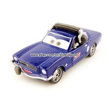 Mattel Disney Pixar Cars Rare Brent Mustangburger 1:55 Diecast Collect Toy Loose