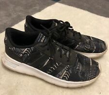 Adidas Black and White Tennis Athletic Shoes Size 9 Guc