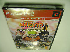Naruto: Ultimate Ninja  (Sony PlayStation 2) BRAND NEW FACTORY SEALED