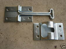 "RV trailer 4"" T-style ENTRY DOOR CATCH holder ALUMINUM cargo, horse semi trailer"