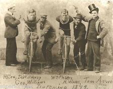 Vintage Bicycle Racing Antique Bicycles Top Hats Starter Pistol Bike Racers LOOK