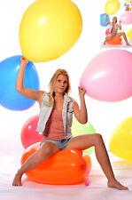 "3x 60cm+Ø (24"" /190er) Riesen- Luftballon * 1x 24"" Riesen- Ballon BUNT * weich *"