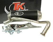 Escape Deportivo con E Dibujo Turbo Kit GMax 4T para Kymco Dink Yager Spacer 125