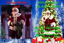 BLACK VIRTUAL SANTA and VIRTUAL SANTA  DVDS by Jon Hyers