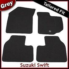 Suzuki Swift Tailored Fitted Carpet Car Mats GREY (2005 2006 2007 2008 2009)