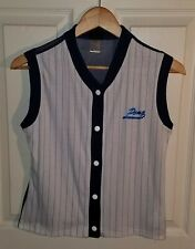 Vintage Pony Athletic Sport Shoes Brand T Shirt 80's 90's Striped Baseball Med