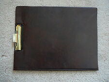 UNION PACIFIC RAILROAD - Vintage LEATHERETTE FOLD OPEN CLIP BOARD 9x12 -   EUC