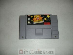 AUTHENTIC!! Kirby Super Star - Game Only - SUPER NINTENDO SNES  - 1130d