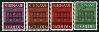 Surinam SC# 436-439, Mint Never Hinged, # 436 ink spot - Lot 110616
