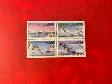 CHILE ANTARCTIC 1986 MNH BIRDS BLOCK CORMORANT PENGUIN SKUA TERN