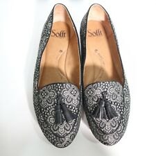 Sofft Womens Textile Upper Leather Insole Flats Shoes Size 7 EUC