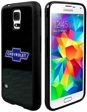 Cell Phone Cases Covers Skin Protector for Samsung Galaxy S5 BLACK Chevy Bowtie