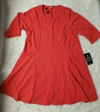 Avenue Size 26/28 Coral Plus Size Dress