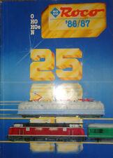 CATALOGO TRENINI ROCO 1986/87 scala O HO HOe N modellismo ferroviario AA/1019