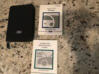 2002 Ford Focus Owners Manual With Case OEM Free Shipping