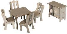 Juego De Comedor: Woodcraft Construcción De Madera Casa De Muñecas Modelo 3d Kit Cx 703