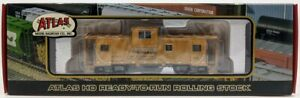 Atlas 62041 HO Scale D&RGW Extended Vision Caboose #1504 MT/Box