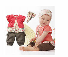 Unbranded Floral Outfits & Sets (0-24 Months) for Boys