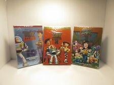 Toy Story 1,2,3 New Complete Trilogy (Pixar Studios)-Widescreen Version