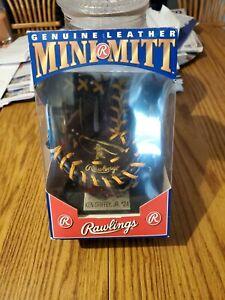 HTF 1991 Rawlings Ken Griffey Jr Mini Mitt New In Box w/ Baseball Card
