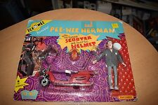PEE-WEE HERMAN with FAMOUS SCOOTER and HELMET 1988 Matchbox #3568 NEW SEALED