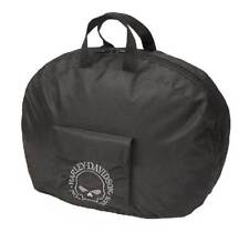 Harley-Davidson Willie G Skull Full Helmet Carry Bag Water-Resistant 99428-BLACK