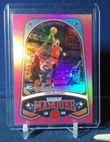 2019-20 Marquee Cam Reddish RC Rookie Pink Foil Parallel SP #243 Atlanta Hawks