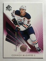 CONNOR MCDAVID - 2017-18 UPPER DECK SP AUTHENTIC LIMITED RED #1