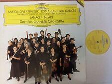 DG 4156681 Bartok: Divertimento & Romanian Folk Dances/Orpheus NM