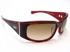 Lacoste Sunglasses Model LA 12620 Color RE Wrap Authentic New Red 63-18-120