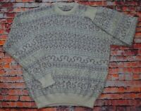 Vintage 80s/90s Colerige Cosby Nordic Funky Sweater Jumper Pullover Italy XL