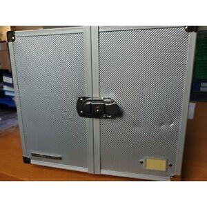 OCCASION Valisette Numismatique en aluminium CARGO MB 10 pour 10 Médailliers liv
