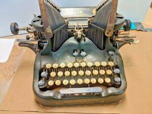 Typewriter Oliver No 9 Visible Antique Standard Vintage Writer Batwing FREE SHIP