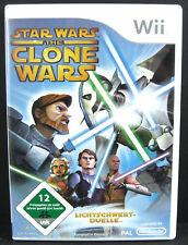 Star Wars - Clone Wars - Lichtschwert-Duelle für Nintendo Wii in OVP (deutsch)