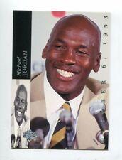 1993-94 Upper Deck SE Retirement #MJR1 Michael Jordan Chicago Bulls / White Sox