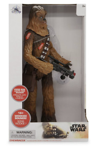 Disney Star Wars Chewbacca Talking Action Figure 15'' New with Box