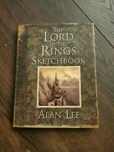 The Lord of the Rings Sketchbook by Alan Lee (Hardcover, 2005)