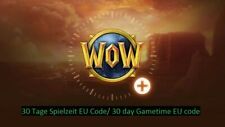 WoW 30 Tage Spielzeit EU Code/WoW 30 day Gametime code EU!