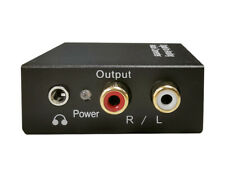 SONIQ Digital to Analog With 3.5mm Audio Converter Model: DK201