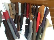 1.1/2 kg  Beautiful  scraps/ Off cuts Leather Italian