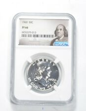 PF66 - 1960 Franklin 90% Silver Half Dollar - NGC *228