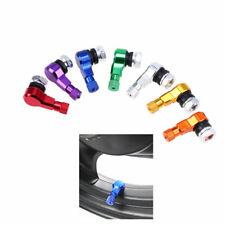 2x Fit Motorcycle Tire Tyre Air Wheel Valve Stem Cap Set 90 Degree 9mm Dustprood